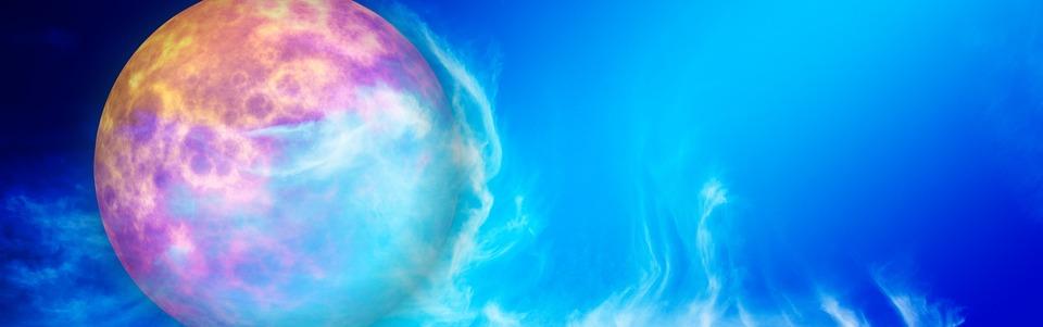惑星と色彩