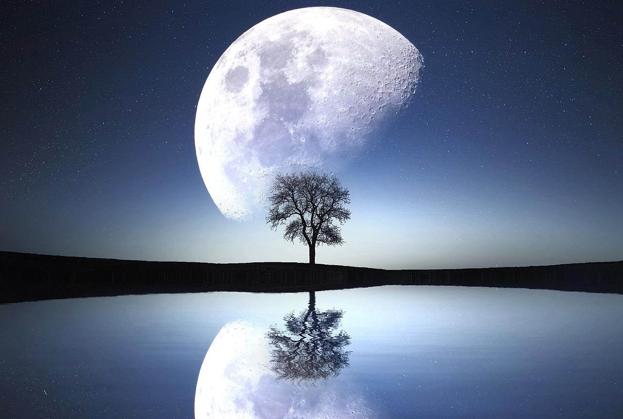 獅子座の月